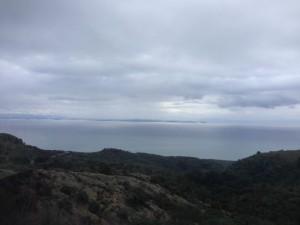 Aegean from Mt Ida