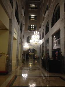 Legacy Ottoman lobby