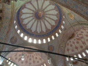 Blue Mosque tiled dome