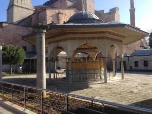 Hagia Sophia ablution fountain