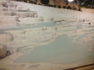 Pamukkale as it once was