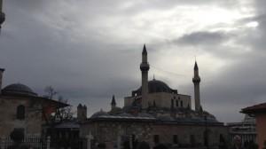 mosque at Rumi tomb
