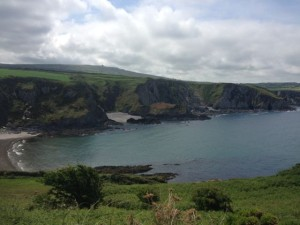 Dinas head cove