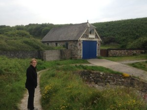 Dorota with lifeboat station