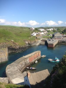 Return to Porthgain at high tide