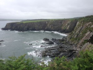 Slate cliffs