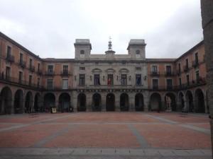 19th century city square