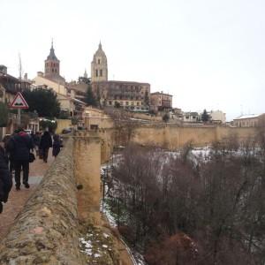 walls of Segovia