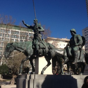 Monument to Cervantes