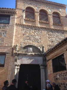 The synagogue of Toledo
