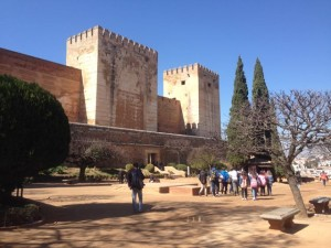 military fortress, one of the earliest buildings in the Alhambra